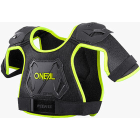 O'Neal Peewee Chest Guard neon yellow